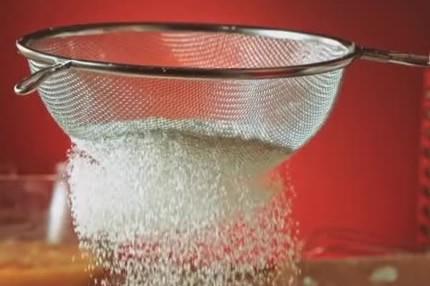 Sifting Cornmeal