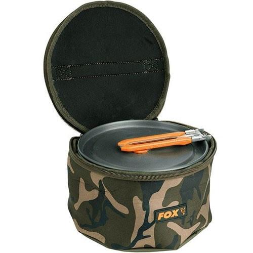 Fox Camo Neoprene Cookset Bag min