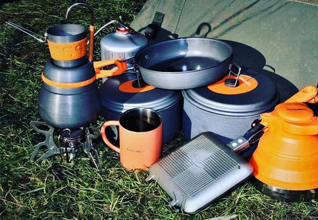 Best Carp Fishing Cooking Sets